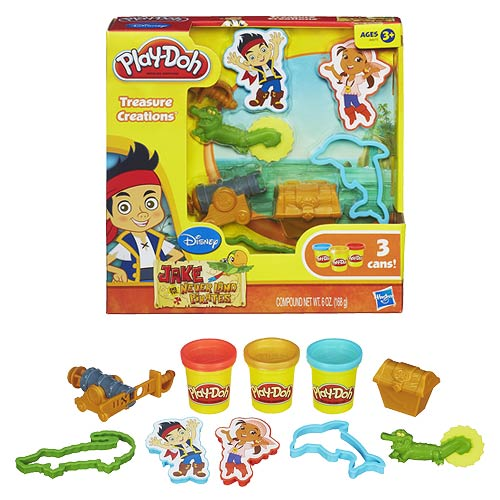 Jake and the Never Land Pirates Play-Doh Treasure Set