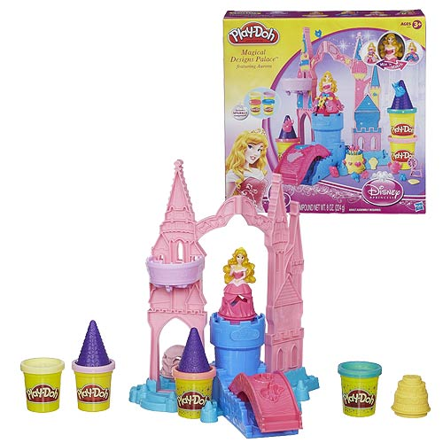 Sleeping Beauty Magical Designs Palace Play-Doh Set