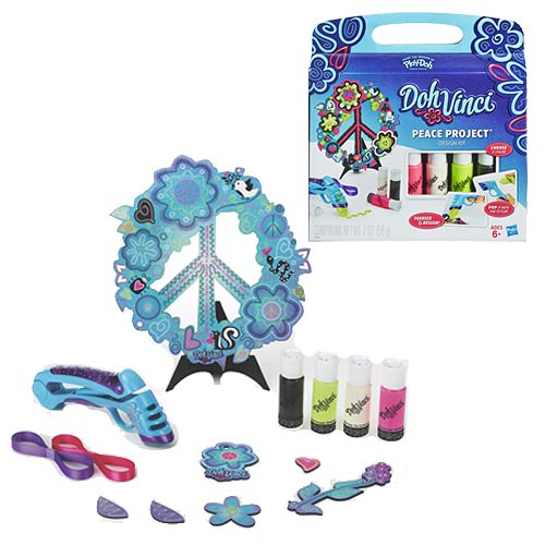 Play-Doh DohVinci Peace Project Design Kit