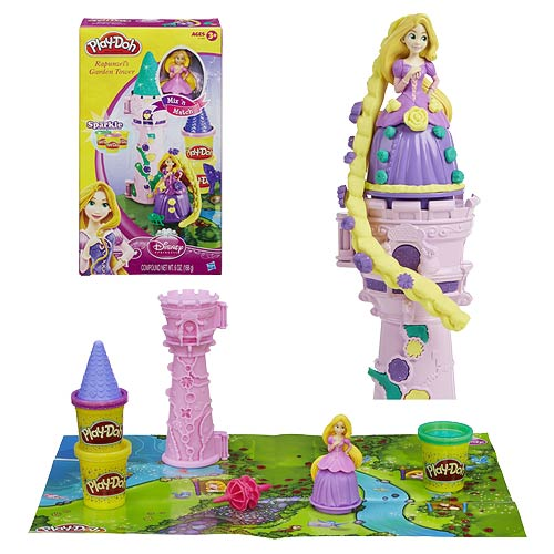 Play-Doh Tangled Rapunzel's Garden Tower Set