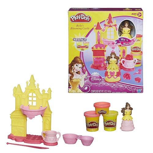 Play-Doh Beauty and the Beast Belle's Blooming Castle Set