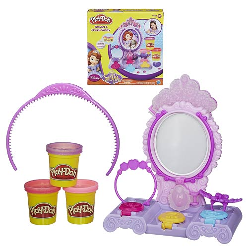 Play-Doh Sofia the First Amulet and Jewels Vanity Set