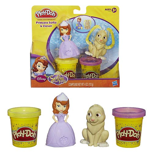 Play-Doh Sofia the First Princess Sofia and Clover Set
