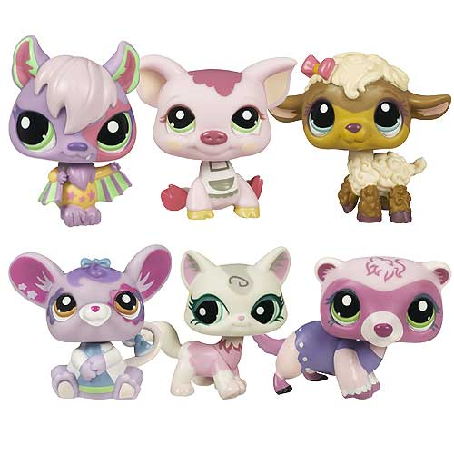 Littlest Pet Shop Online LPSO Starter Pets Wave 1