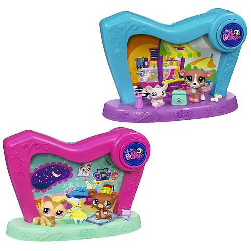 Littlest Pet Shop Pet Spotlights Wave 1 Set