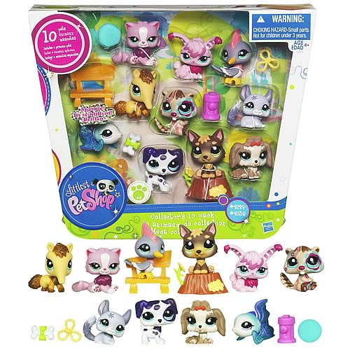 Littlest Pet Shop Ultimate Pet Collection 10-Pack