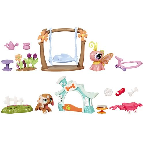 Littlest Pet Shop Walking Pets Theme Packs Wave 1