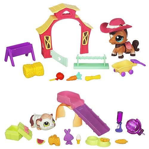 Littlest Pet Shop Walking Pets Theme Packs Wave 2 Set