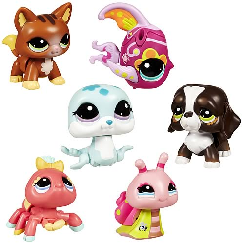 Littlest Pet Shop and all related characters Littlest Pet Shop Jet Playset, Includes 4 Exclusive Pets, Ages 4 and up (Amazon Exclusive) by Littlest Pet Shop. $ $ 39 00 Prime. FREE Shipping on eligible orders. out of 5 stars Manufacturer recommended age: 4 Years and up.