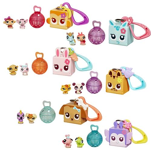 Littlest Pet Shop Key Chains Wave 1 Revision 1 Set
