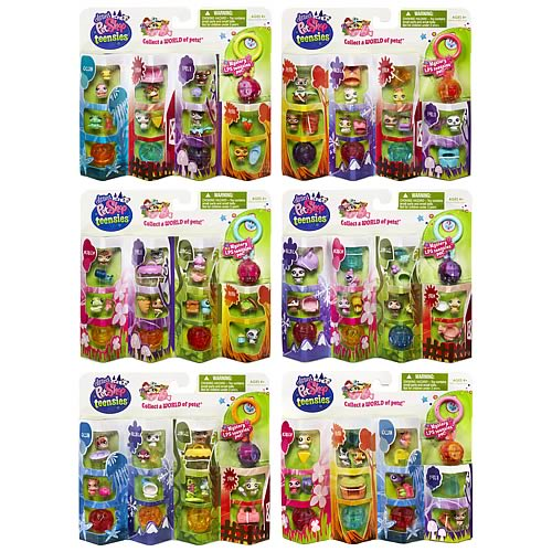 Littlest Pet Shop Teensies Intro Packs Wave 1