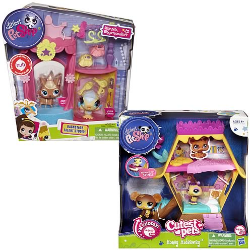 Littlest Pet Shop Cozy Condo Playsets Wave 1