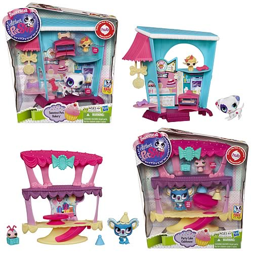 Littlest Pet Shop Cozy Condo Playsets Wave 2