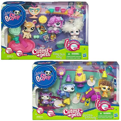Littlest Pet Shop Everyday Adventure Sets Wave 1 Set