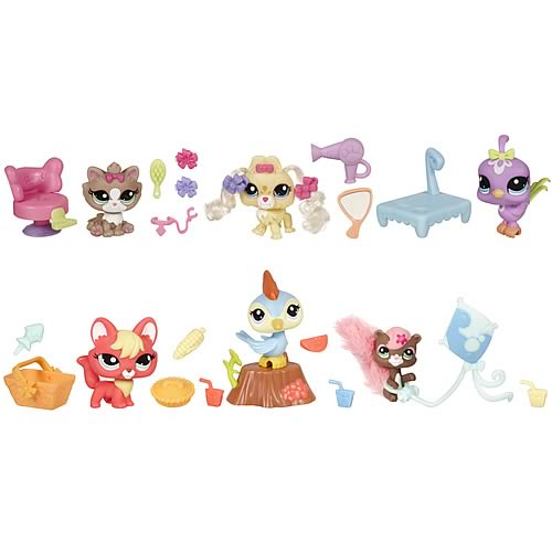 Littlest Pet Shop Everyday Adventure Sets Wave 2 Set