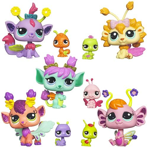 Littlest Pet Shop Enchanted Pets Wave 1 Set
