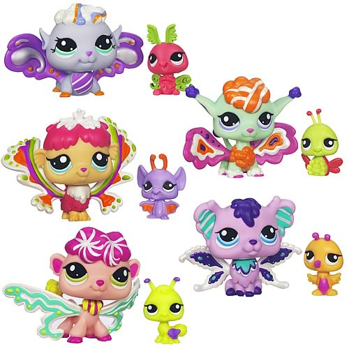 Littlest Pet Shop Enchanted Pets Wave 2 Set