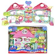 Now you can have a home for all your Littlest Pet Shop Pets to play, sleep, and even bath!