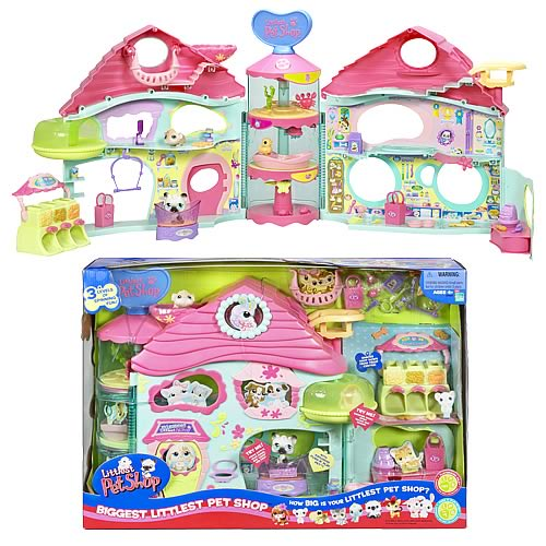 Littlest Pet Shop Biggest Little Pet Shop Playset