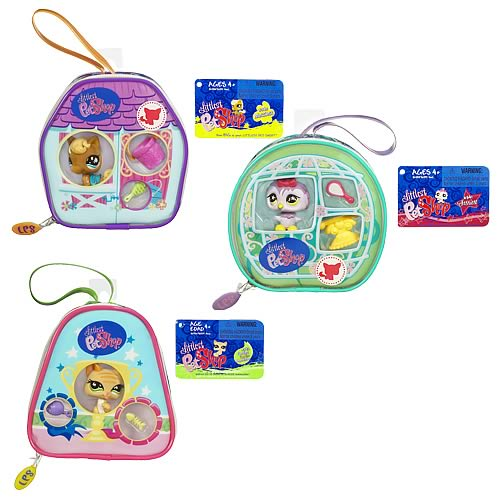 Littlest Pet Shop On The Go Purses Wave 1 Set
