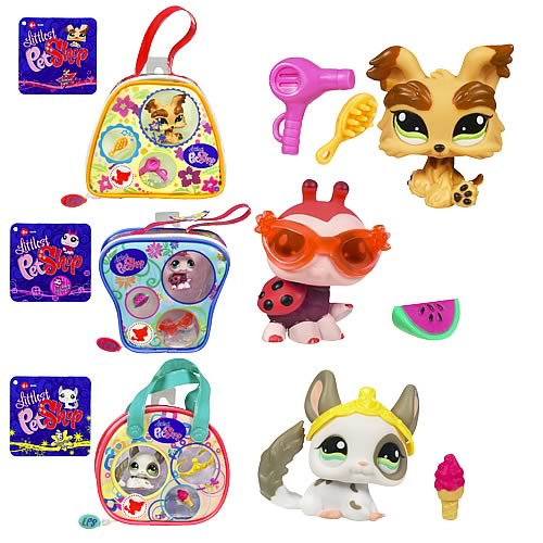 Littlest Pet Shop On The Go Purses Wave 2 Set