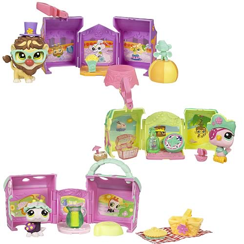 Littlest Pet Shop On The Go Pet Carriers Wave 3 Set