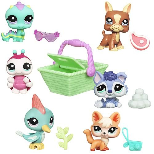 Littlest Pet Shop Get The Pets 2011 Wave 1 Set