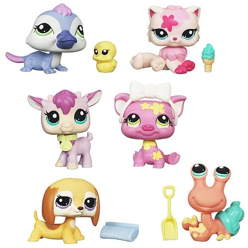 Littlest Pet Shop Get The Pets 2012 Wave 1 Set