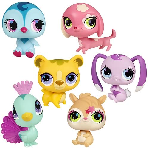 Littlest Pet Shop Get The Pets 2012 Wave 2 Set