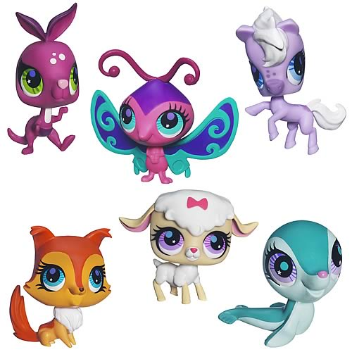 Littlest Pet Shop Get The Pets 2012 Wave 3 Set