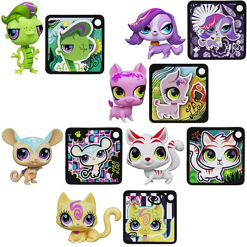 Littlest Pet Shop Get The Pets 2013 Wave 1 Set