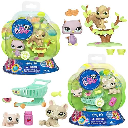 Littlest Pet Shop Spring Pets Wave 1 Set
