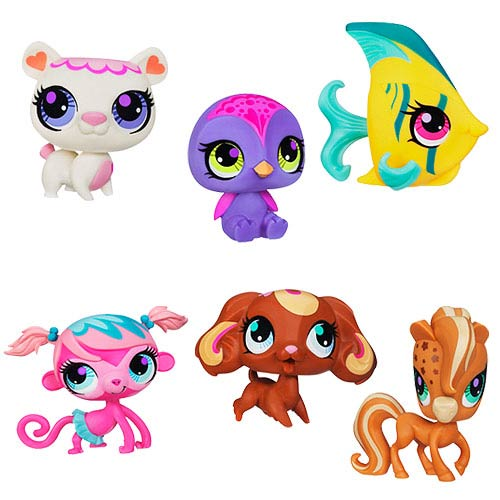 Littlest Pet Shop Get The Pets Assortment B Wave 2 Set