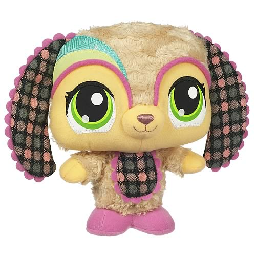Littlest Pet Shop LPSO Pets Plush Dog 4