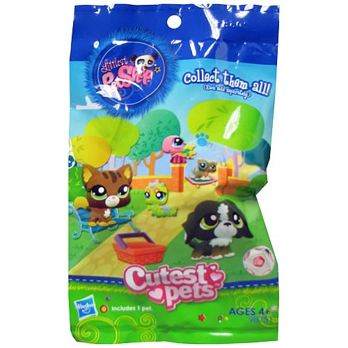 Littlest Pet Shop Blind  Bagged Figures Wave 1 6-Pack