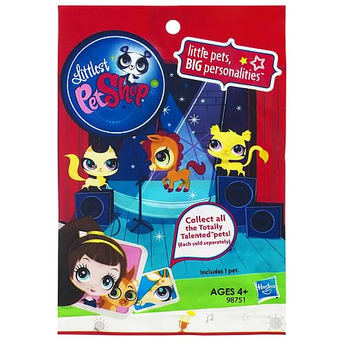 Littlest Pet Shop Blind  Bagged Figures Wave 5 6 Pack