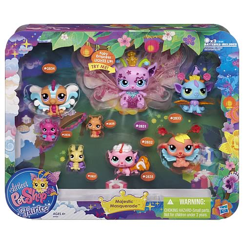 Littlest Pet Shop Majestic Masquerade Pets Collection Pack