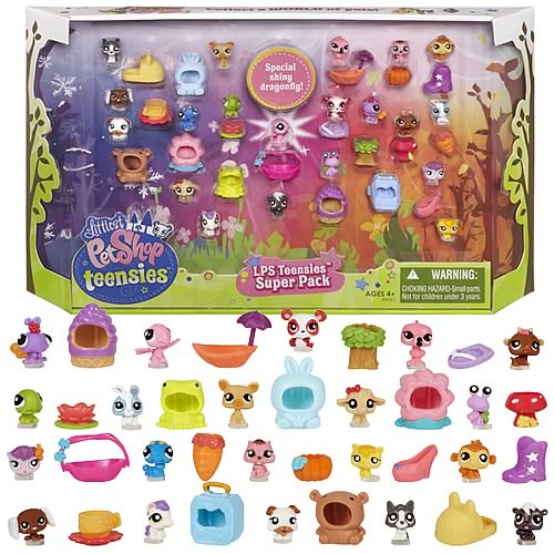 Littlest Pet Shop Teensies Super Pack