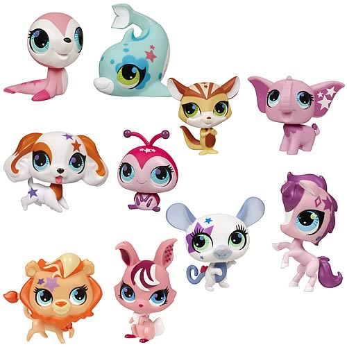 Littlest Pet Shop Totally Talented Pets 2-Pack Wave 1 Set