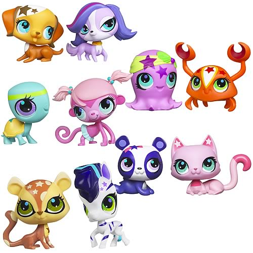Littlest Pet Shop Totally Talented Pets 2-Pack Wave 2 Set