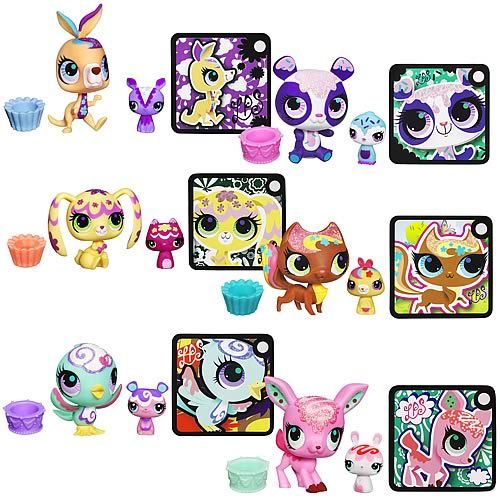 Littlest Pet Shop Totally Talented Pets 2-Pack Wave 3