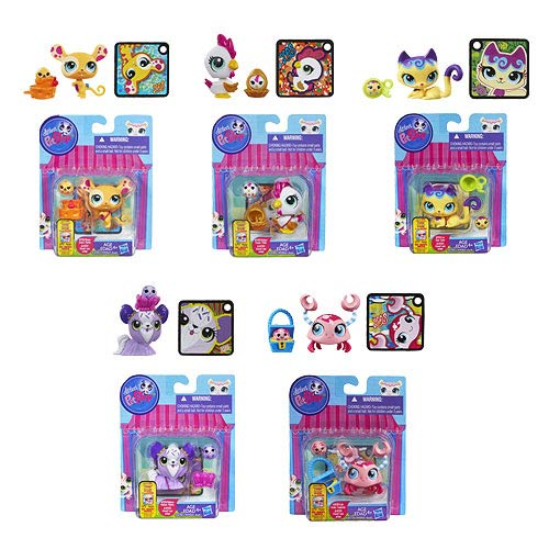 Littlest Pet Shop Totally Talented Pets 2-Pack Wave 4 Set