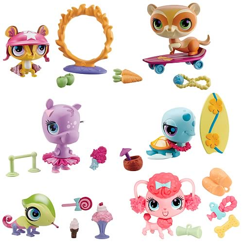 Littlest Pet Shop Tricks and Talents Pets Wave 1