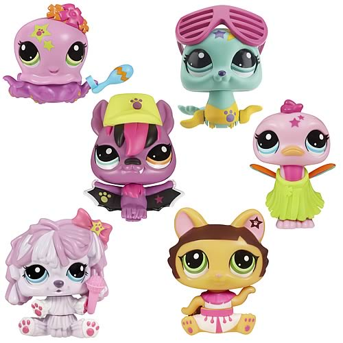Littlest Pet Shop Walkables Dancing Pets Wave 1