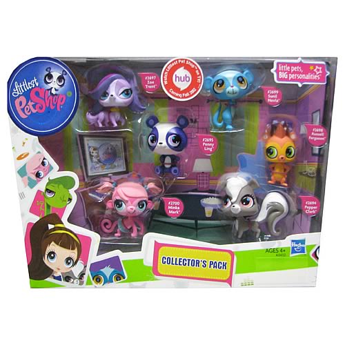 Littlest Pet Shop Entertainment Pack Pets