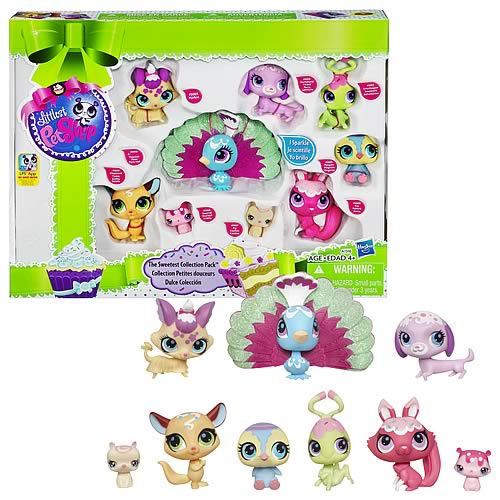 Littlest Pet Shop Sweetest Collection Pack Pets