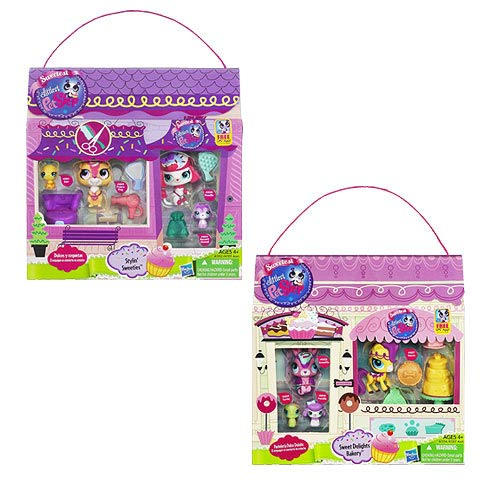 Littlest Pet Shop Multi Pet Scene Packs Wave 2