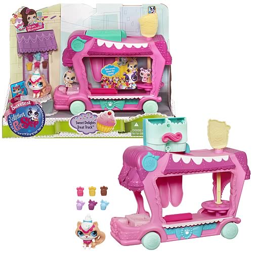 Littlest Pet Shop Sweet Delights Truck