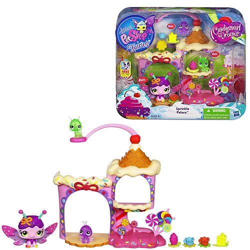 Littlest Pet Shop Enchanted Story Sprinkle Palace Playset