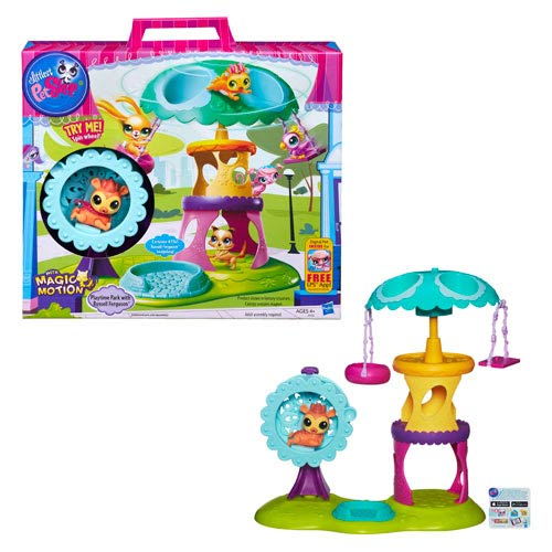 Littlest Pet Shop Playtime Park with Russell Playset
